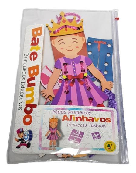 Meus Primeiros Alinhavos Princesa Fashion - Bate Bumbo