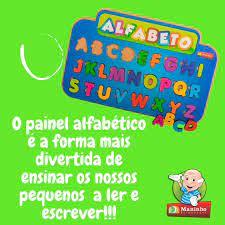 Painel Alfabético - Maninho Artesanatos