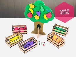 Pomar de Frutas - Materiais para Brincar