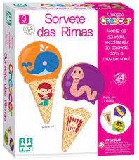 Sorvete das Rimas - Nig Brinquedos