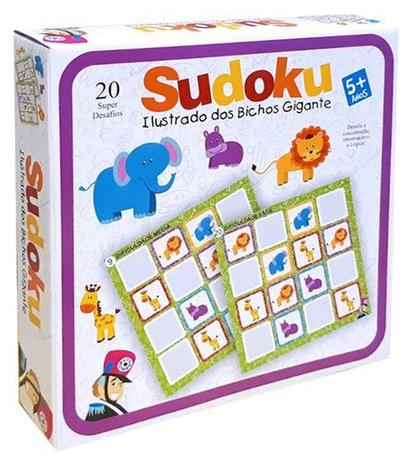 Sudoku Ilustrado dos Bichos Gigantes - Bate Bumbo