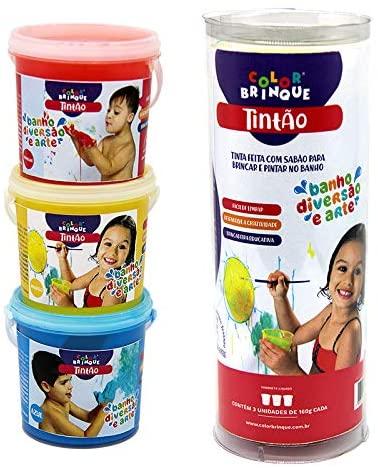 Tintão - Tinta de sabão para pintar no banho - Color Brinque