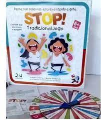 Tradicional Jogo Stop - Bate Bumbo