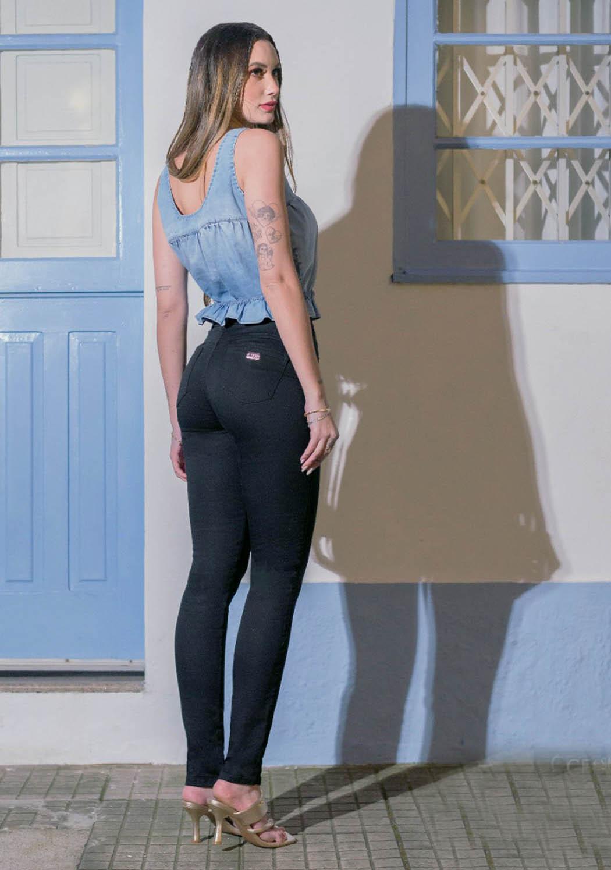 Calça Feminina Skinny Milagrosa Preta