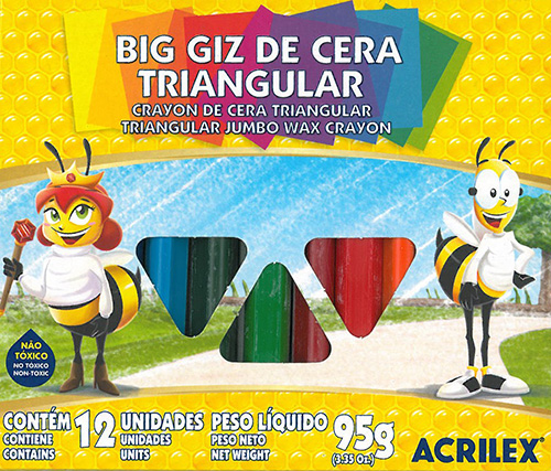 BIG GIZ TRIANGULAR C/12 CORES