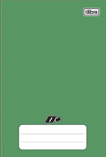CADERNO UNIV.CD BROCHURA 96FLS D+ VERDE