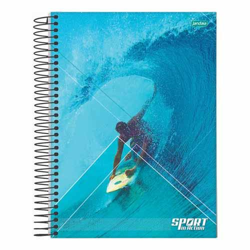 CADERNO UNIV.CD ESPIRAL 12 MATERIAS 192FLS SPORT 21