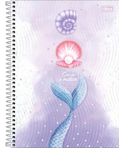 CADERNO UNIV. CD ESPIRAL 1 MATERIA 80FLS WONDER