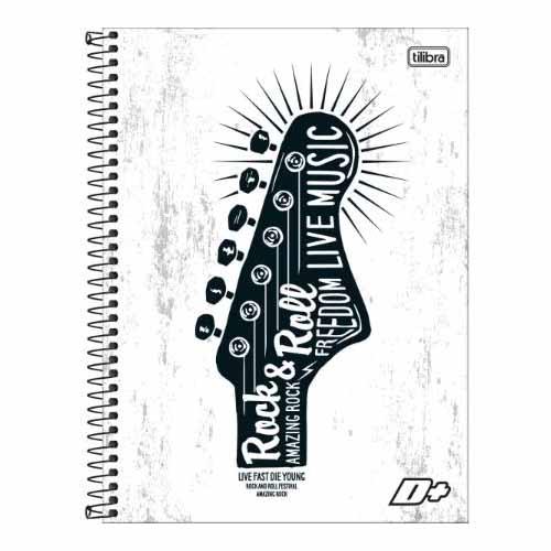 CADERNO UNIV.CD ESPIRAL 1 MATERIA 96FLS D+