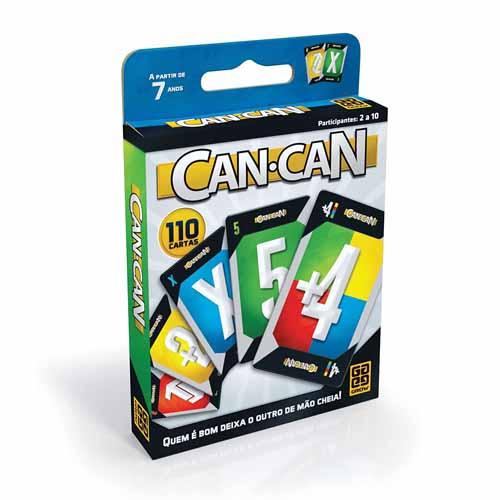 CAN-CAN CAIXA PLASTICA