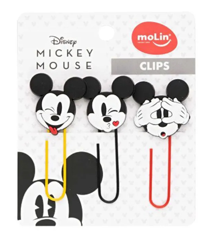 CLIPS 50MM MICKEY MOUSE BLISTER