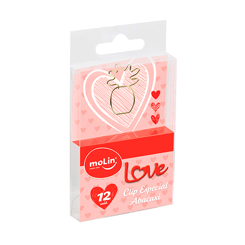 CLIPS ESPECIAL ABACAXI LOVE HEART
