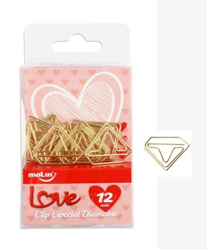 CLIPS ESPECIAL DIAMANTE LOVE HEART