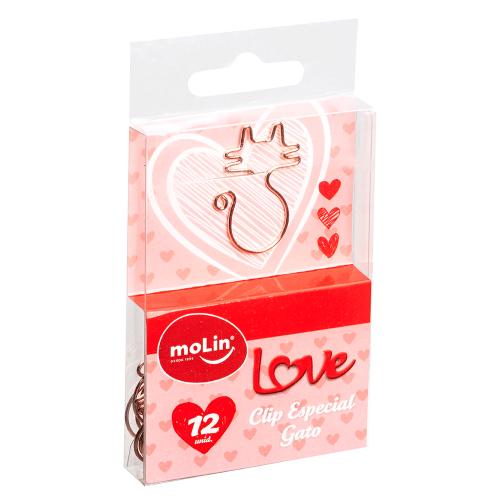 CLIPS ESPECIAL GATO LOVE HEART