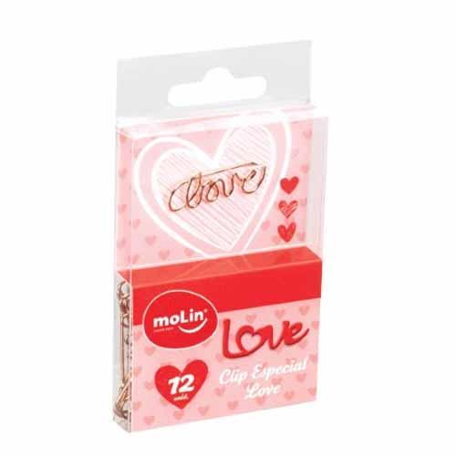 CLIPS ESPECIAL LOVE LOVE HEART