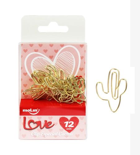 CLIPS LOVE HEART ESPECIAL CACTUS