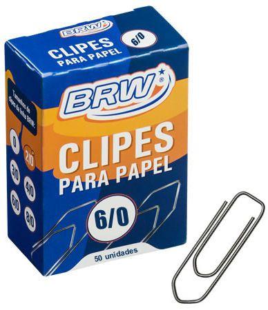 CLIPS PAPEL Nº6/0 50 UN