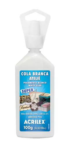 COLA BRANCA ATELIE 100G SUPER