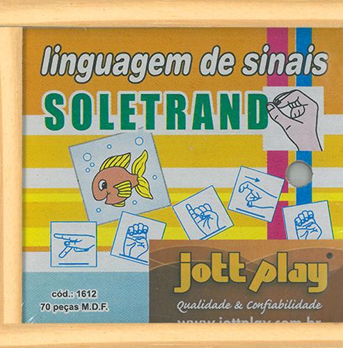SOLETRANDO LINGUAGEM DE SINAIS LIBRAS