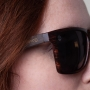 Óculos de Sol de Acetato com Bambu Giuseppe Black