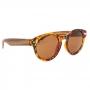 Óculos de Sol de Acetato com Bambu Jasmine Turtle