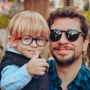 Óculos de Sol de Acetato com Madeira Bonventre Black