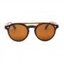 Óculos de Sol de Acetato com Madeira Merida Turtle