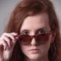 Óculos de Sol de Acetato com Madeira Milano Brown