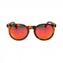 Óculos de Sol de Acetato com Madeira Milano Red