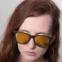 Óculos de Sol de Acetato com Madeira Nebrasca Yellow