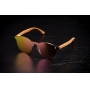 Óculos de Sol de Acetato com Madeira Tiana Rosé
