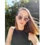Óculos de Sol de Acetato e Madeira Maresca