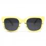 Óculos de Sol de Madeira Carambina White