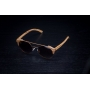 Óculos de Sol de Madeira e Metal Anna Brown