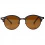 Óculos de Sol de Madeira e Metal Garapeira