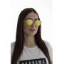 Óculos de Sol de Madeira e Metal Lansky