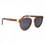 Óculos de Sol de Madeira e Metal Meyer Brown