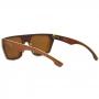Óculos de Sol de Madeira Freijó Brown