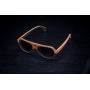 Óculos de Sol de Madeira Lupo Brown
