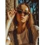 Óculos de Sol de Madeira Michele