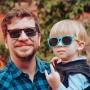 Óculos Infantil Solar Stuart Blue