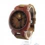 Relógio de Madeira Domenico Brown