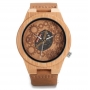 Relógio de Madeira e Bambu Andros