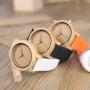 Relógio de Madeira e Bambu MW Jung Black