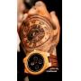 Relógio de Madeira e Bambu Persico