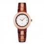 Relógio de Madeira Fontana White