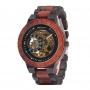 Relógio de Madeira Mikonos MW Red Automático
