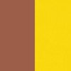 Amarelo e Marrom