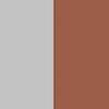 Cinza e Marrom