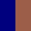 Marrom e Azul